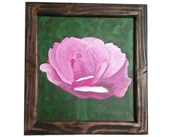 Rose Portrait with frame