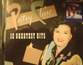 Patsy Cline 12 Greatest Hits  CD