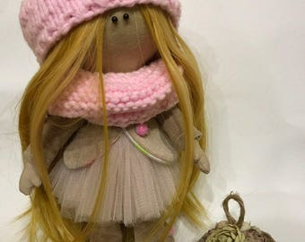 Textile Doll, Manual work