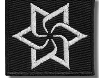Raelian - embroidered patch 7x8 cm
