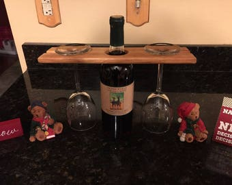 Wine Glass/Bottle Holder