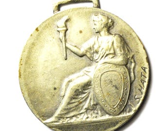 Meiji Shrine S Hata Japanese Circa 1930 Athletic Medal 38mm