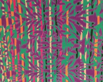 Silk crepe de chine in abstract print