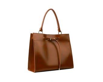 100% Premium Vegan Leather 2-Way Tote Bag