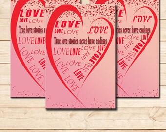 Valentines day, valentines card, valnetines invitations