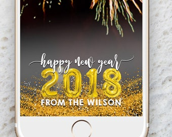 New Years Eve Snapchat Geofilter Family,New Years Snapchat Filter,2018 Party Geofilter,Custom Snapchat Geofilter,New Years Eve Party Filter