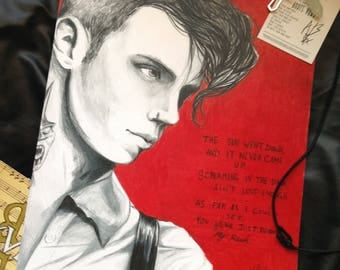 Andy Black - Beyond My Reach Original Drawing