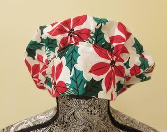 Holiday Bouffant Scrub hat