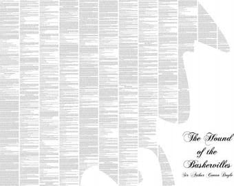 The Hound of the Baskervilles Book Poster