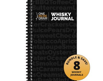 Whisky Journal (Bundle of 8)