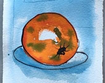 Orange 1  - Original watercolour