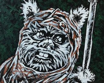 Ewok Painting