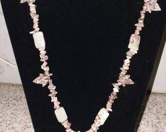 Rhodochrosite necklace