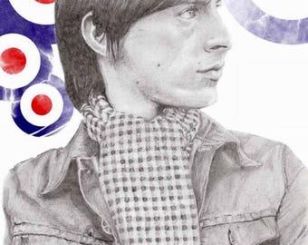 Paul Weller Print