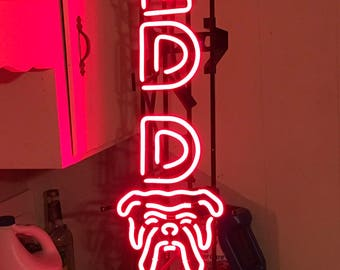 Red Dog Beer Neon Sign