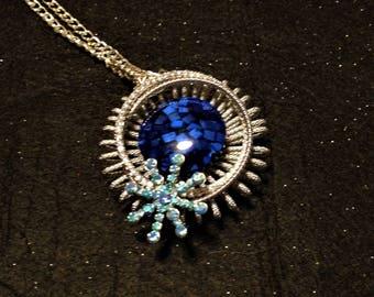 Celestial Snow! pendant