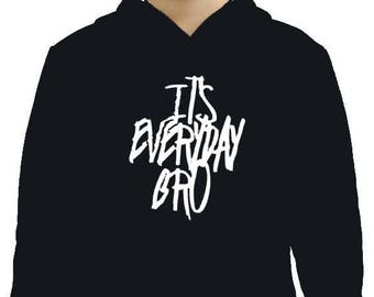 Jake Paul Its Everyday Bro Original  Youth hoodie. 100% COTTON. Jake Paul Merch