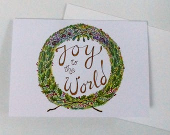 Christmas Cards beautifully hand illustrated