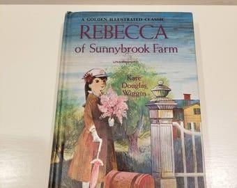 Rebecca of Sunnybrook Farm, Unabridged, by Kate Douglas Wiggin, Copyright 1965,  Very good condition