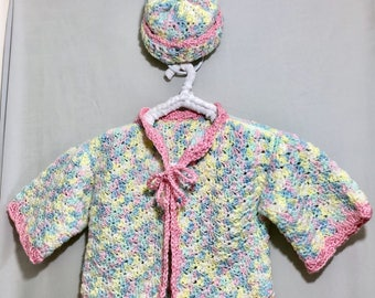 Cotton Candy kimono wrap