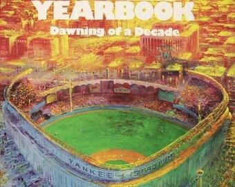 1980 NEW YORK YANKEES - Vintage Baseball Poster