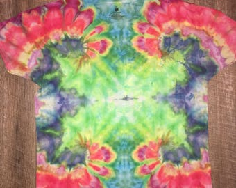 Iced tie dye.  X marks the spot