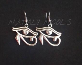 Eye of Ra Dangle Earrings