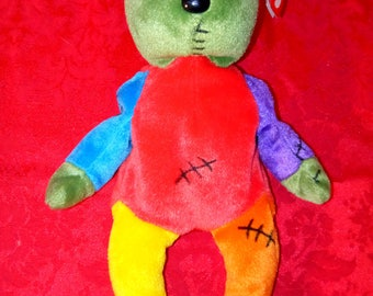 Beanie Babies- Frankenteddy 2001