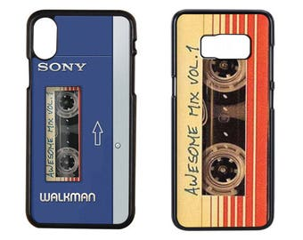 Awesome Mix vol 1 Iphone Case, sony walkman, Awesome Mix vol 1 Soundtrack, Awesome iPhone X Case, Awesome Samsung Case, Samsung s7 Case