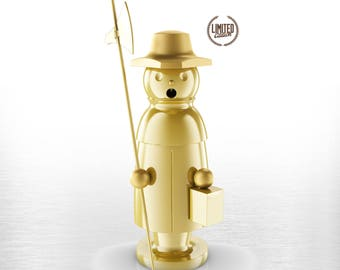 Exclusive stainless steel Smoker-The Guardian-limited gold Edition