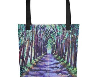 Tote bag - Kauai Tree Tunnel