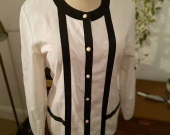 Vintage Tailored Chanel Style Jacket