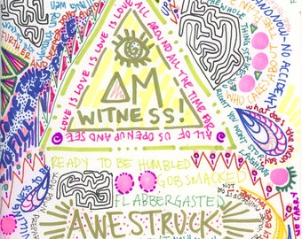 I Am Witness! Print