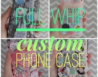 Custom full whip decoden phone case