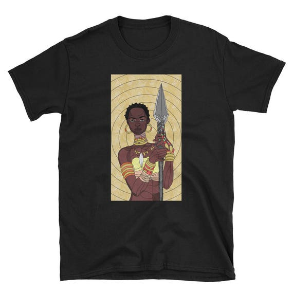 Stained Glass Warrior - Unisex Tee