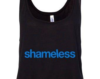 """Shameless TV Show """"Logo"""" Crop Top Tank"""