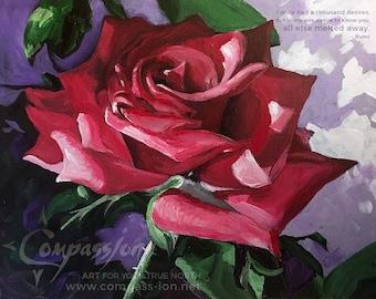 180213 * Bursting Rose