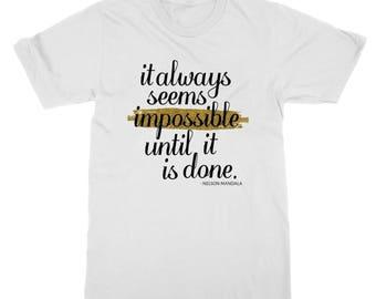 Nelson Mandela Impossible T-Shirt