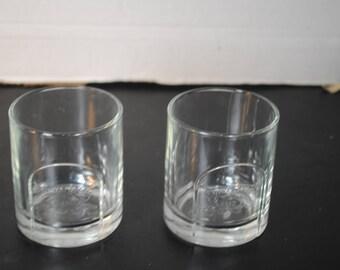 Chivas Regal Lowball Drink Glasses