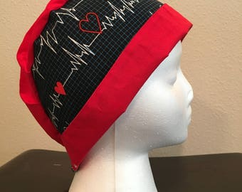 Heart Rhythm Hat- Two Color
