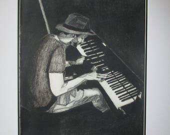 The Pianist in Charcoal
