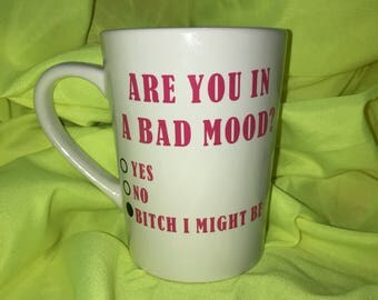 Are You In A Bad Mood 14 oz. Mug