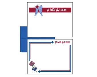 Pi Beta Phi Postcards - Logo Mom