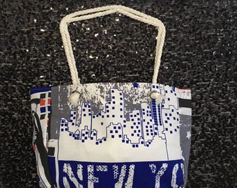 New York Canvas Tote Bag