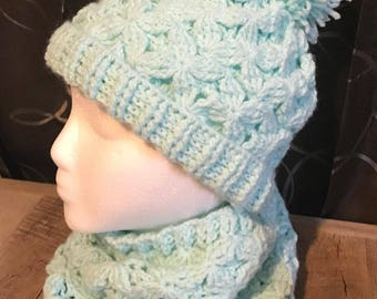 Beautiful Hat and Cowl