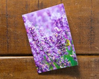 Lavender Eco Pocket Notebook, Recycled, Eco-friendly printing