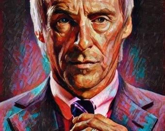 """Aluminium metal wall art """"Paul Weller"""""""