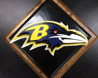 Baltimore Ravens Plaque