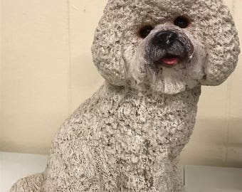 Bichon Frise Statue - Best in Show/Good Dog, Vintage