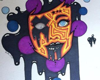 Trippy Ink Art